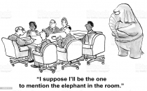 I suppose I'll be the one to mention the elephant in the room